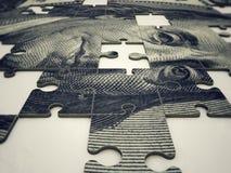 Enigma do dólar Foto de Stock
