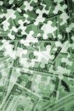 Enigma do dinheiro Imagens de Stock