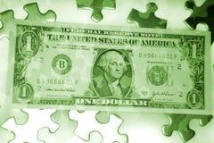 Enigma do dinheiro Fotografia de Stock