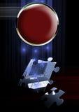 Enigma dos computadores ilustração do vetor
