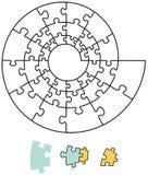 Enigma espiral Fotos de Stock Royalty Free