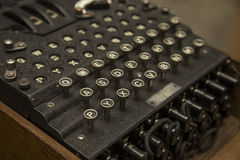 Enigma. The German cipher machine created for sending messages during World War 2 Stock Photography