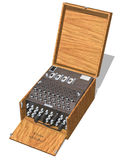 Enigma Machine Royalty Free Stock Photos