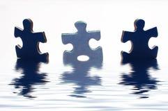 Enigma na água Imagens de Stock Royalty Free