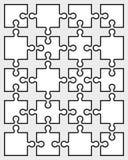 Enigma, peças separadas Imagem de Stock Royalty Free