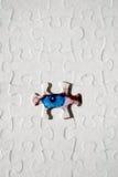 Enigma Textured com olho Fotos de Stock Royalty Free