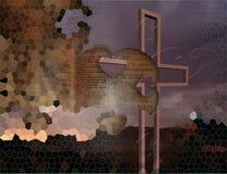 Enigma transversal Foto de Stock