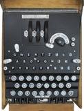 Enigma-Verschlüsselungs-Maschine Stockbilder