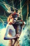 Enigma-vrouw Stock Foto's