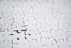 Enigmas brancos Foto de Stock