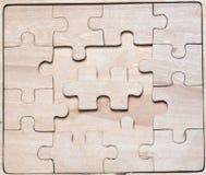 Enigmas de madeira. Imagem de Stock Royalty Free