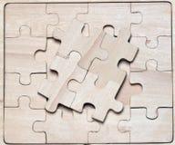 Enigmas de madeira. Fotografia de Stock Royalty Free