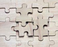 Enigmas de madeira. Fotografia de Stock
