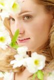 Enigmatic lady Royalty Free Stock Photos
