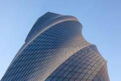 Enigt torn i den Bahrain fjärden, Manama royaltyfri fotografi
