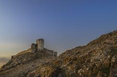 Enisala城堡 库存图片