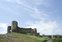 Enisala fortress Royalty Free Stock Photo