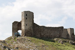 Enisala Fortress Royalty Free Stock Photos