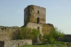 Enisala fortress, Romania Stock Photo