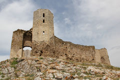 Enisala fortress, Romania Royalty Free Stock Images