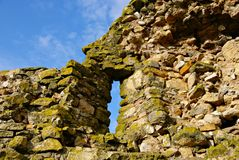 Enisala medieval  Fortress in Dobrogea Region-inside the walls. Royalty Free Stock Photography