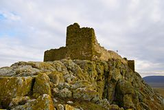 Enisala Medieval Fortress in Dobrogea Region ,Romania Royalty Free Stock Images