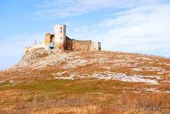 Enisala ruine IV le siècle BCE Photos stock
