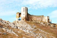Enisala ruine IV le siècle BCE Photo libre de droits