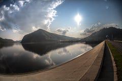 Enisei-Fluss Lizenzfreie Stockbilder