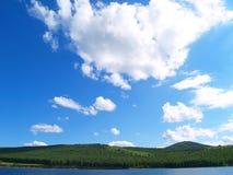 enisey rzeka Zdjęcie Stock