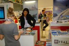 ENIT Italia exhibition at TT Warsaw Stock Image