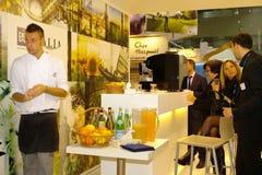 ENIT Italia exhibition at TT Warsaw Stock Photos