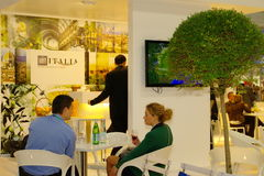 ENIT Italia exhibition at TT Warsaw Royalty Free Stock Image