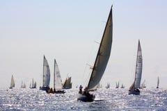 Enjeu classique 2008 de yachts de Panerai Photographie stock