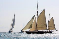 Enjeu classique 2008 de yachts de Panerai Photos stock