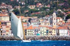 Enjeu classique 2008 de yachts de Panerai Photos libres de droits