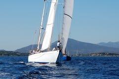 Enjeu classique de yachts de Panerai Image stock