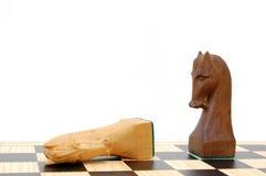 Enjeu d'échecs Images libres de droits
