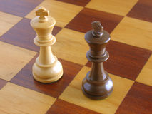 Enjeu d'échecs Photographie stock
