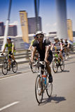 Enjeu dimanche - de cycle élan 94.7 Photos libres de droits
