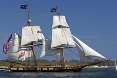 Enjeu grand 2010 de bateaux - les USA Brig Niagara Photos libres de droits