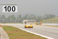 Enjeu léger de Sportscar photographie stock libre de droits