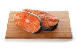 Enjeux des saumons images stock