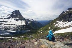 Enjoing as Montanhas Rochosas Fotos de Stock