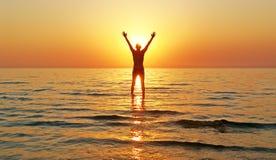 Enjoy идя на воду Стоковая Фотография RF