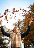 Enjoy autumn Royalty Free Stock Image