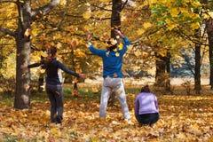 Enjoy autumn Royalty Free Stock Photography