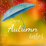 Enjoy autumn sales. Stock Photo