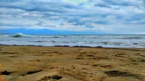 Enjoy beautiful beaches in Indonesia royalty free stock photography