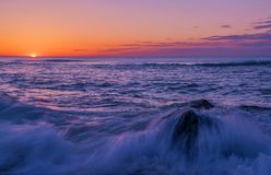 Enjoy the beauty of sunrise Stock Image